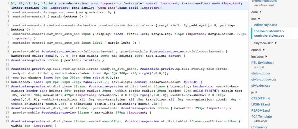 Example of Java Script in WordPress
