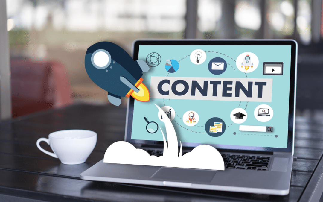 Content marketing is rocket fuel for your website
